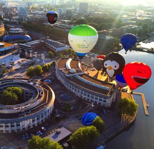 Bristol International Balloon Fiesta top 7 best vantage points