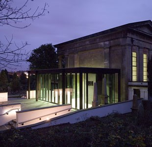 Visitor Centre in Arnos Vale Cemetery