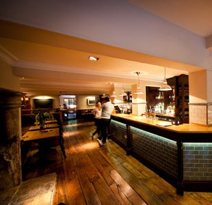 Interior of Graze Bar and Chophouse
