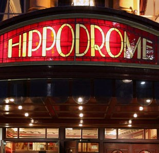 The Bristol Hippodrome entrance sign