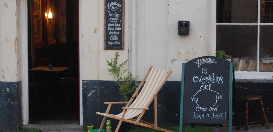 Quirky country pubs in Bristol - Image Rebecca Clay