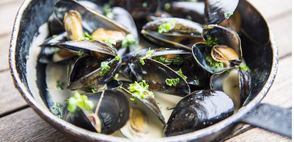 French classics such as mussels