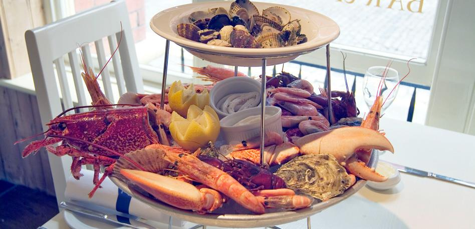 Seafood selections