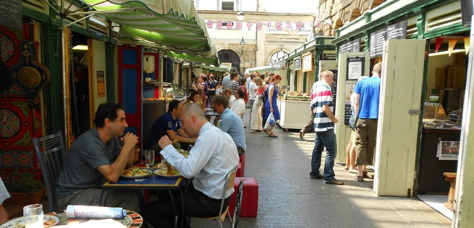 Explore the markets for a wide range of vegetarian food in Bristol - image Destination Bristol