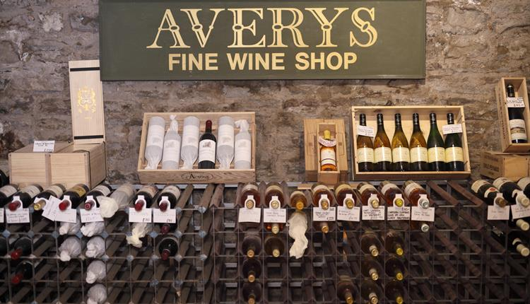 Head to the tasting table at Averys Wine Merchants