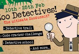 Zoo Detectives at Bristol Zoo Gardens