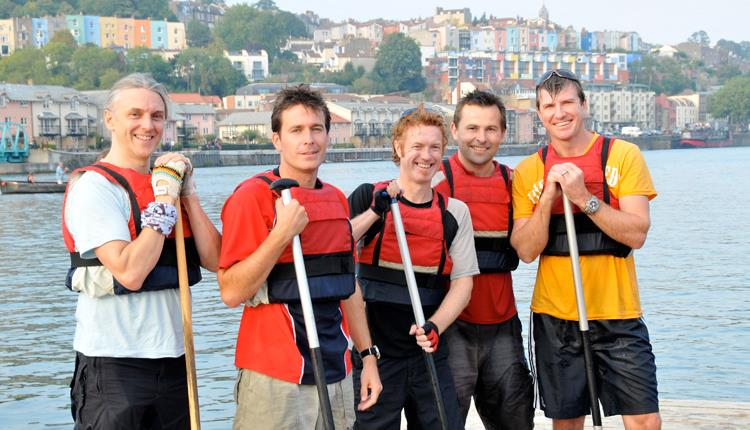 A canoeing trip on Bristol's Harbourside