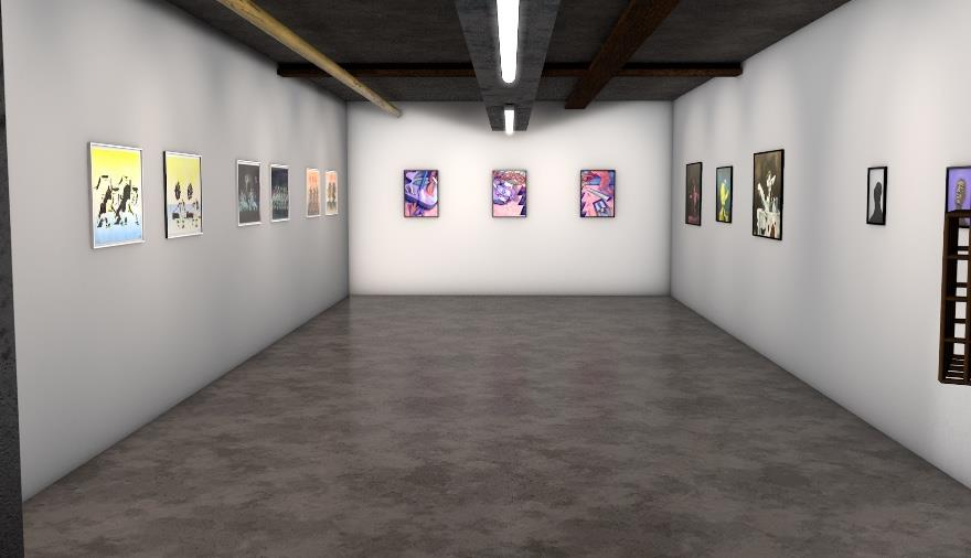 Virtual Gallery: Fluorescent Smogg presents 'The Dividing Line''