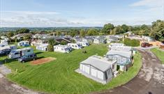 Bucklegrove Holiday Park tents