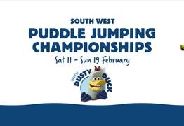 South West Puddle Jumping Championships at Slimbridge Wetland Centre