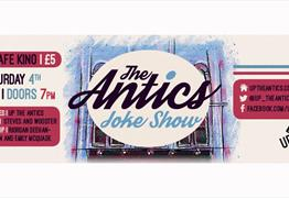 The Antics Joke Show Ft. Steves and Wooster at Cafe Kino