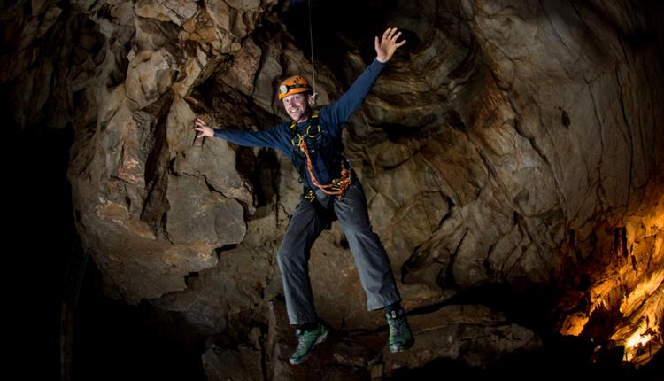 Try 'adventure caving' with Rocksport at Cheddar Gorge