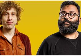 Live Comedy with Sunil Patel and Richard Todd at The Lazy Dog
