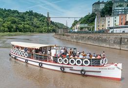 Cruise the Avon Gorge Cruise with Bristol Packet Boat Trips