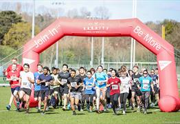 Bristol Uni 5k [Training Run] at Coombe Dingle Sports Complex