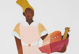 Exhibition Tour: Lubaina Himid Led by Valda Jackson, artist at Spike Island Exhibition Tour: Lubaina Himid Led by Valda Jackson, artist at Spike Islan