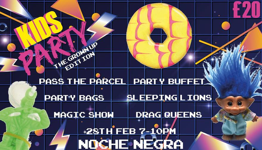 Kids Party at Noche Negra