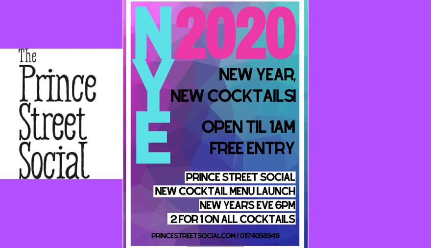 New Year's Eve at Prince Street Social