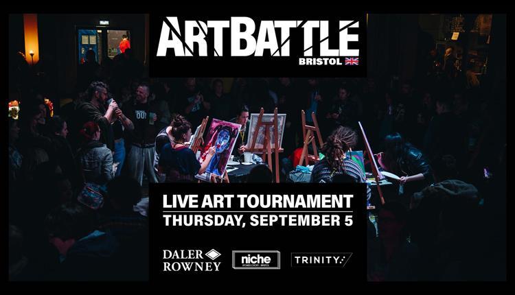 Art Battle September at Trinity