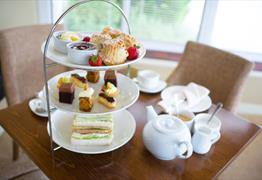 Afternoon Tea at the Alveston House Hotel