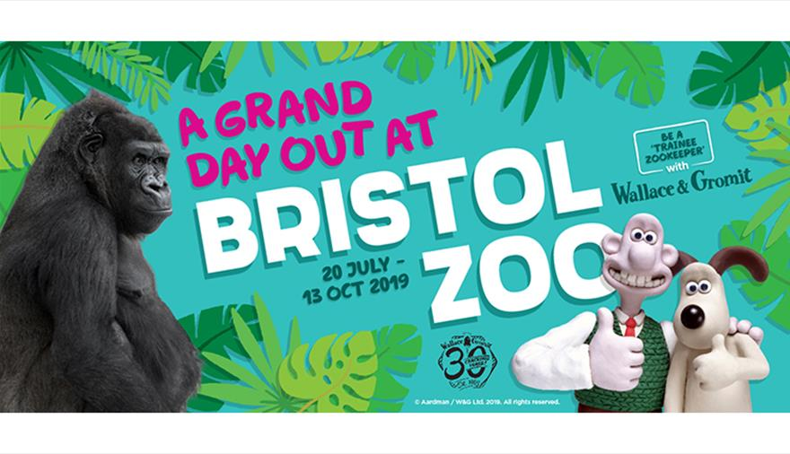 A Grand Day Out at Bristol Zoo with Wallace & Gromit