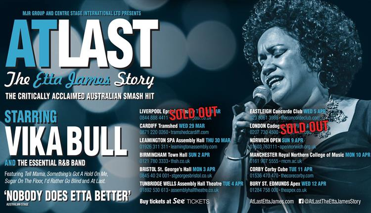 At Last - The Etta James Story at St George's Bristol