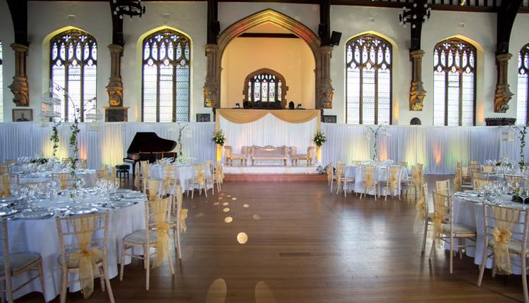 Great Hall set up