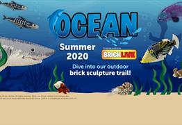 BRICKLIVE Ocean Sculpture Trail at Bristol Zoo Gardens