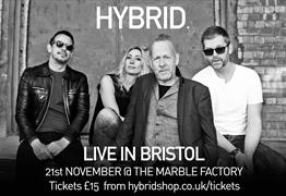 Hybrid Live at The Marble Factory