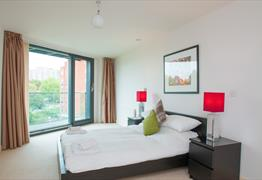 Cleyro Serviced Apartments bedroom