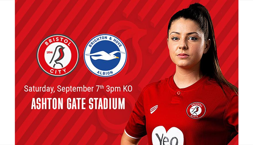 Bristol City Women v Brighton & Hove Albion Women at Ashton Gate Stadium