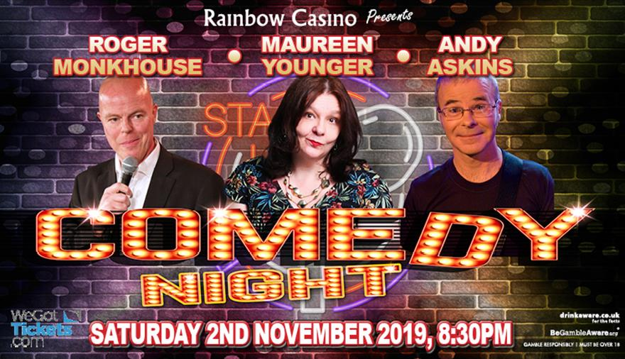 Rainbow Casino Comedy Night: Roger Monkhouse and Andy Askins