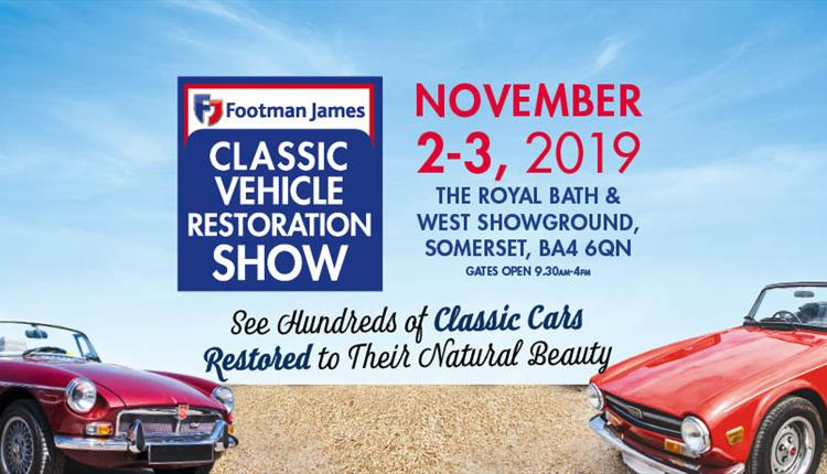 The Footman James Classic Vehicle Restoration Show 2019