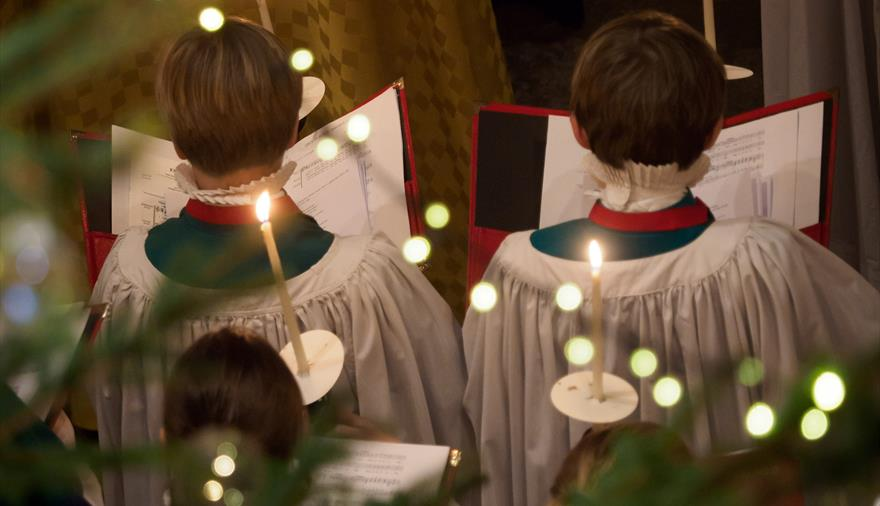 Carols by Candlelight at Salisbury Cathedral