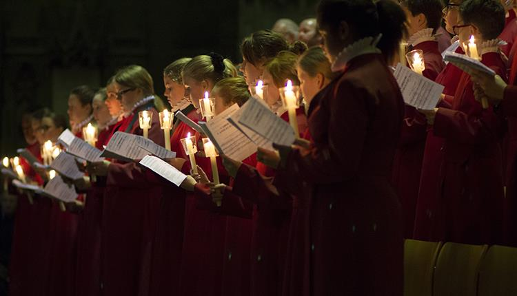 Carols by Candlelight at Bristol Cathedral