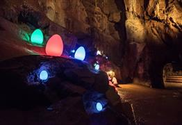 Glow in the Dark Egg Hunt at Cheddar Gorge & Caves