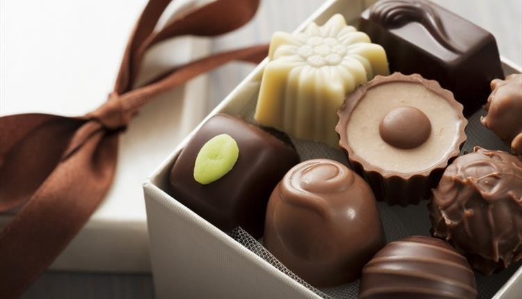 Chocolate and truffle making class at Thornbury Castle Hotel