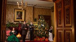 Christmas house opening at Tyntesfield