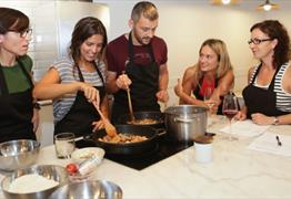 Learn to cook in Monica's private kitchen at Cooking It!