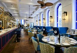 The Jetty Restaurant at Bristol Harbour Hotel