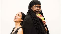 Courtney Pine with Zoe Rahman at St George's Bristol