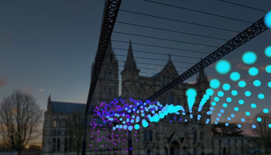 From Darkness to Light Illuminations at Salisbury Cathedral