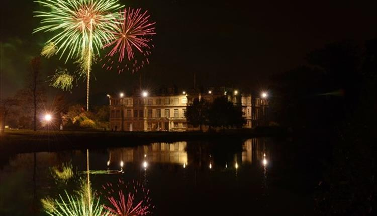 New Year's Fireworks at Longleat
