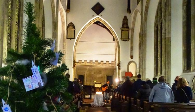 Carols by Candlelight at St John on the Wall
