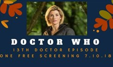 Special free screening of Jodie Whitaker's first Doctor Who episode at Espensen Spirit
