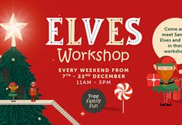 Elves Workshop at The Galleries