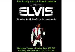 The Rotary Club of Bristol presents: A Tribute To Elvis