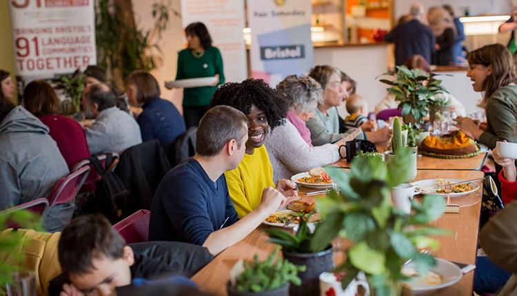 Fair Saturday Breakfast 2018 with 91 Ways to Build a Global City and ACH © Paul Blakemore