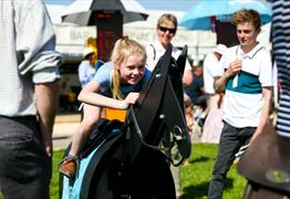 Kids Takeover Racing Fun Day at Bath Racecourse