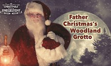 Christmas Spiegeltent: Father Christmas's Woodland Grotto